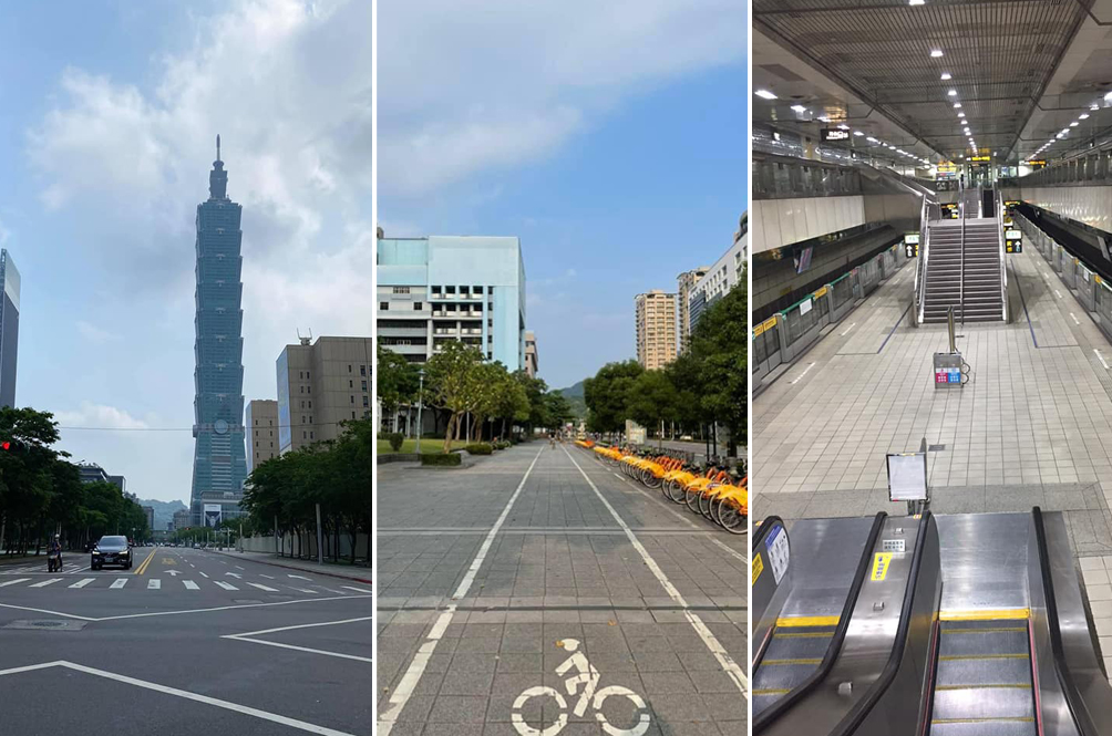Taipei Turns Into Ghost Town As Citizens Impose 'Self-Lockdown' After Country Records 180 New Cases