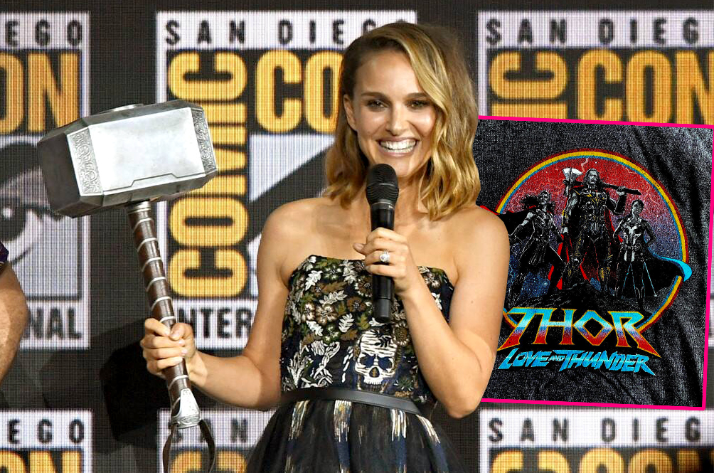 Leaked 'Thor: Love And Thunder' Merchandise Gives Us First Look At Natalie Portman As Lady Thor