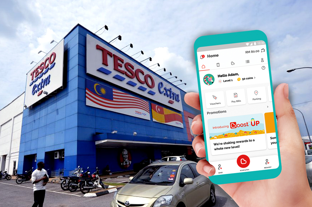 Here's How You Can Earn Up To RM1mil In Cashback By Using The Boost App At Tesco