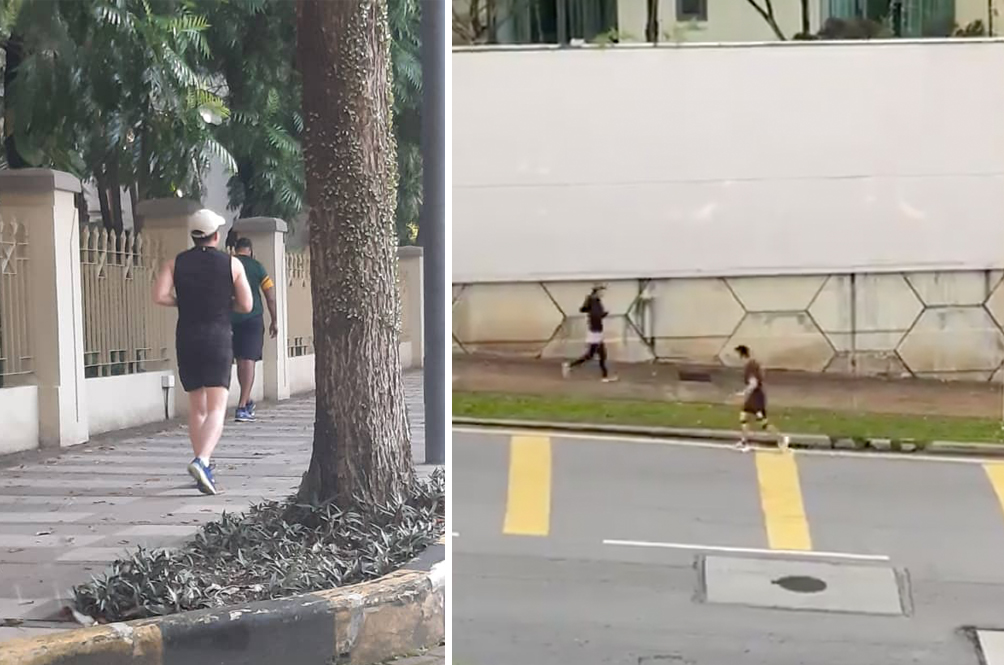 Nowhere To Run: 11 Joggers Reportedly Arrested In Mont Kiara For Not Obeying MCO