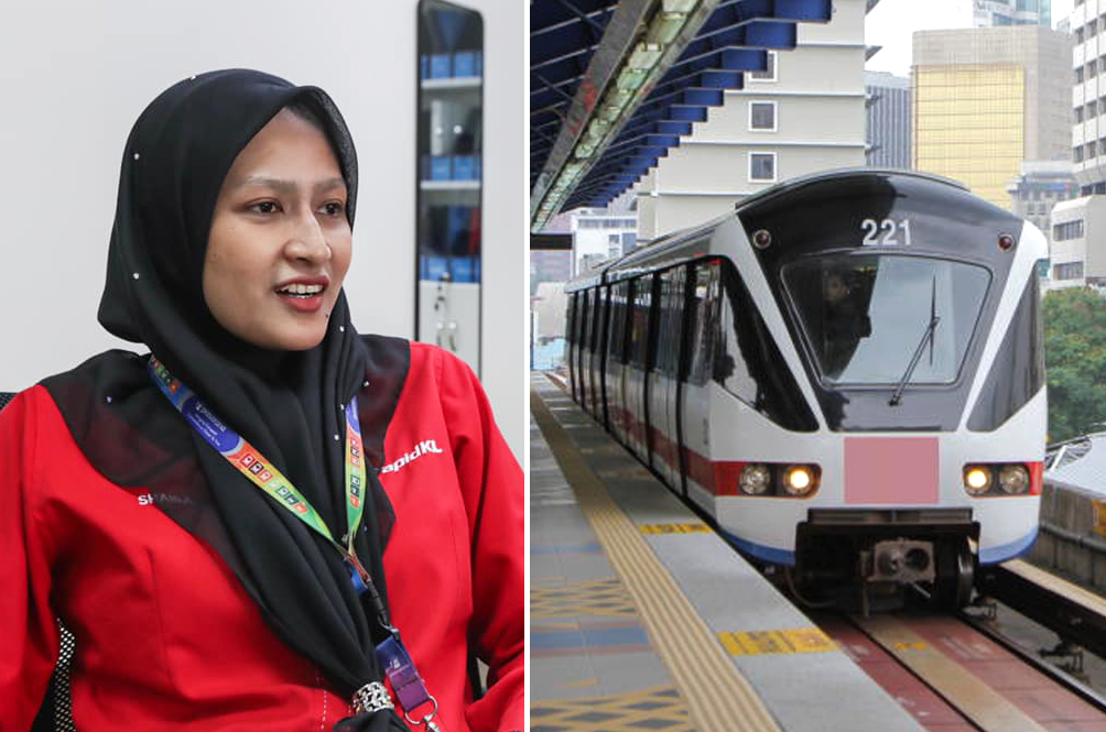 Rapid KL Staff Helps Woman In Labour Deliver Baby At Puchong Prima LRT Station