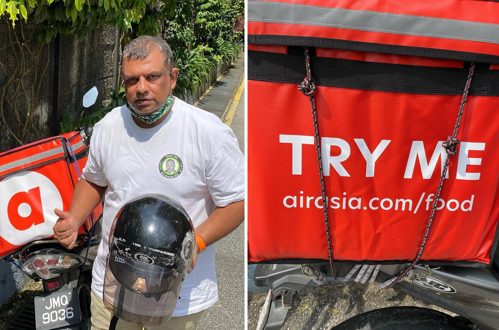 Here's How You Can Get AirAsia Boss Tony Fernandes To Personally Deliver Your Food To You