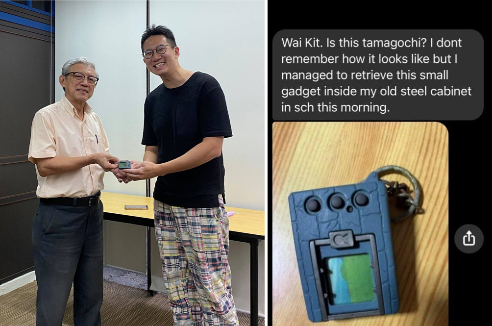 Singaporean Reunites With His Digivice Toy - 20 Years After It Was Confiscated By His Teacher!