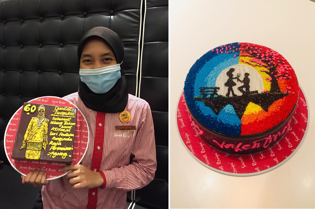 Local Food Outlet Promotes Its Staff For Her Awesome Cake-Decorating Skills