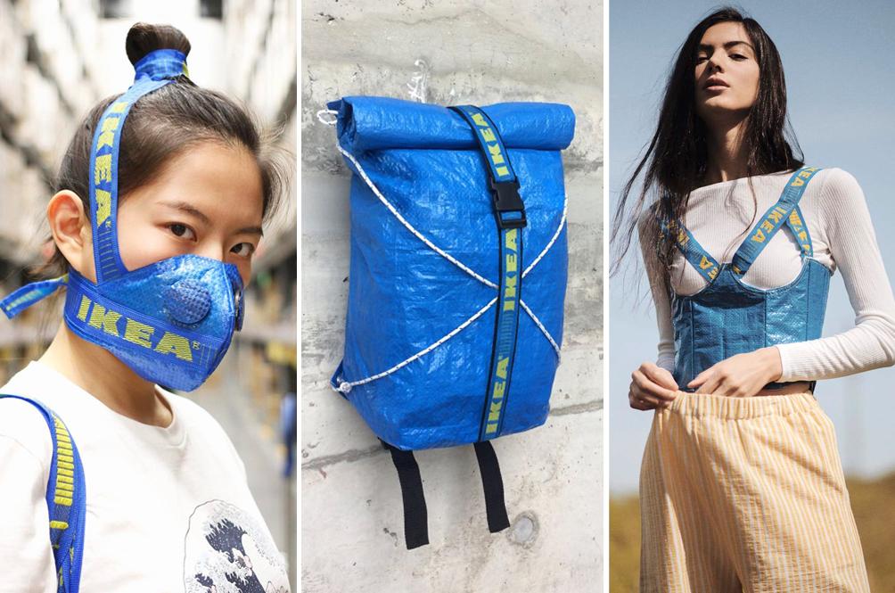 DIY: 10 Things You Can Make Using IKEA's Iconic Blue Reusable Shopping Bag