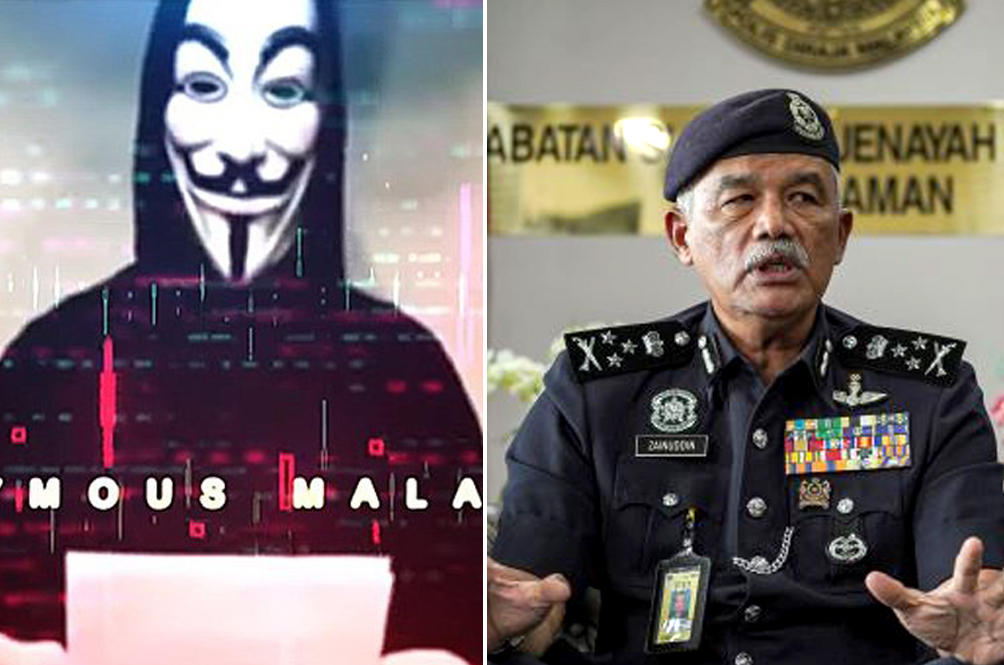'Anonymous Malaysia Hackers Are Skilled In IT' - Malaysia's CCID Chief, 2021