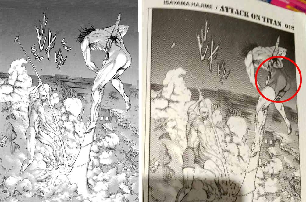 Malaysia's Censorship Law Forces Humanoids In Japanese Manga 'Attack On Titan' To Wear Clothes