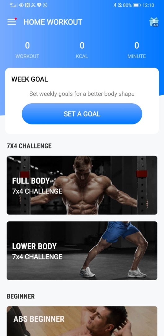Help you with your workout goals.