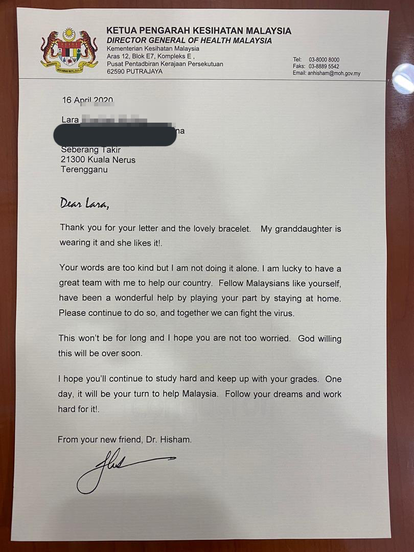 The good doctor replied.