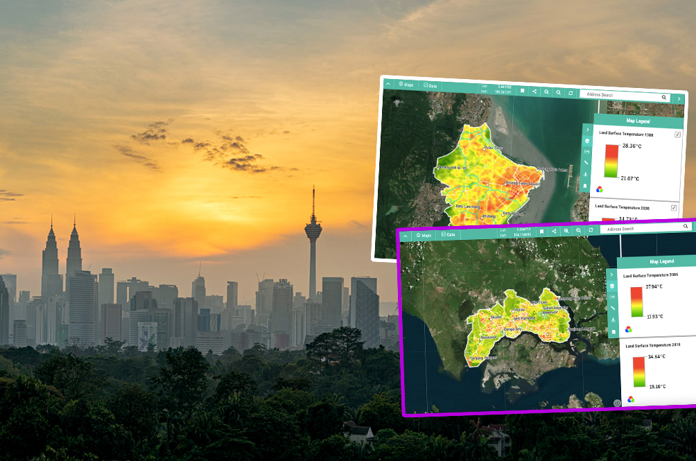Hot Stuff: Here Are Five Malaysian Cities That Got Hotter Over The Past Few Decades