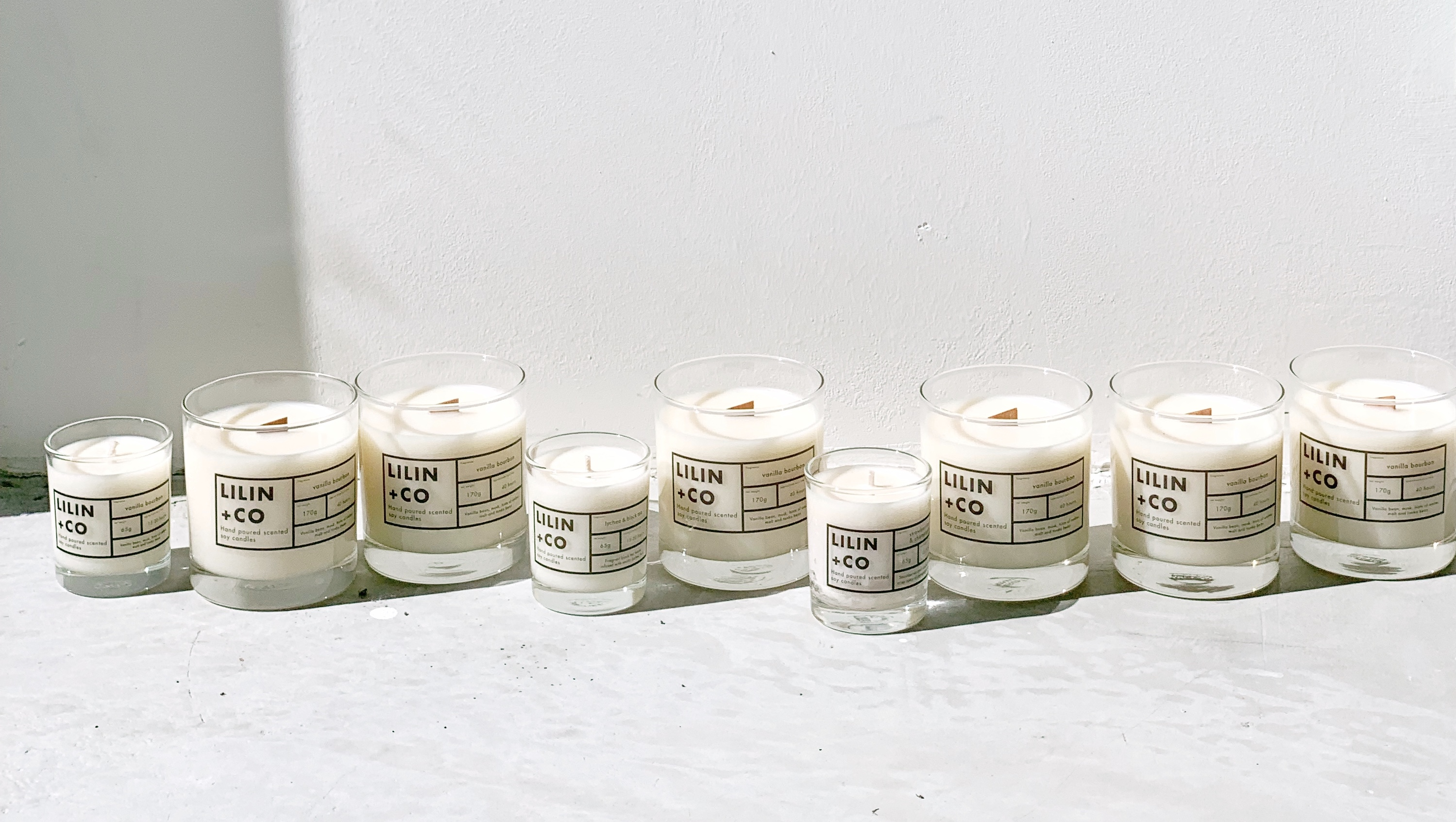 Homemade scented candles? Yes, please!