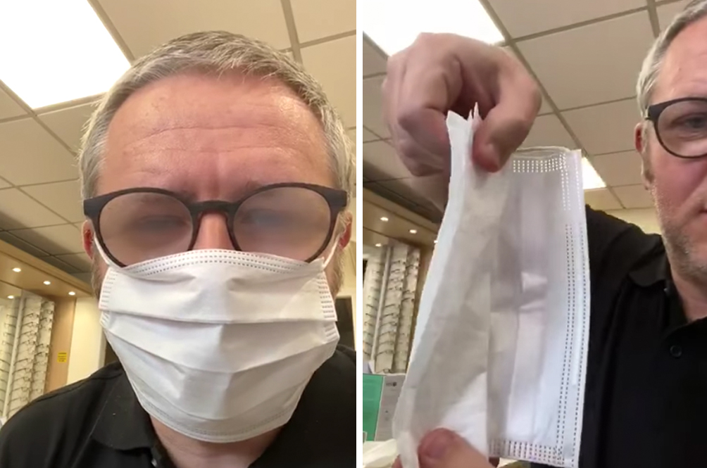 Optician Reveals 3 Simple Tips To Stop Your Glasses From Fogging Up While Wearing A Face Mask