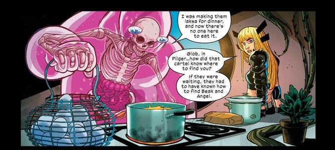 Even superheroes love our food.