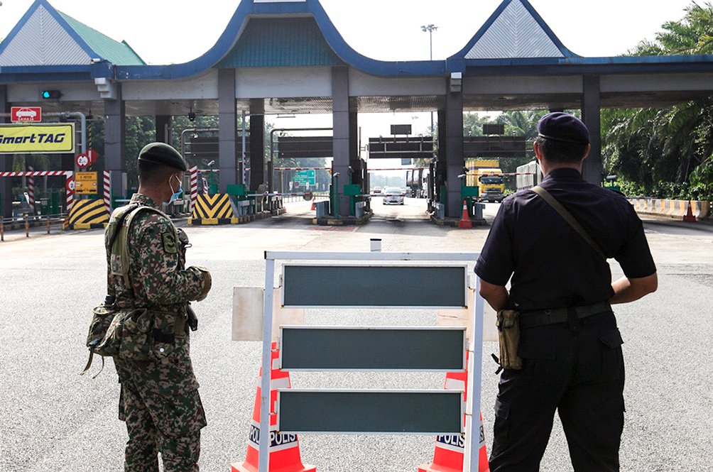 PDRM Are Aware That Their Officers Had Been Lax In Manning Some Roadblocks, Told To Tighten Screenings