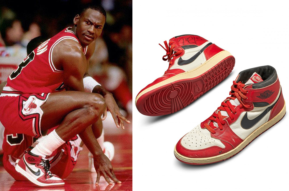 This Pair Of Game-Worn Michael Jordan Sneakers Just Sold For A Price Of A Luxury Condo In Mont Kiara