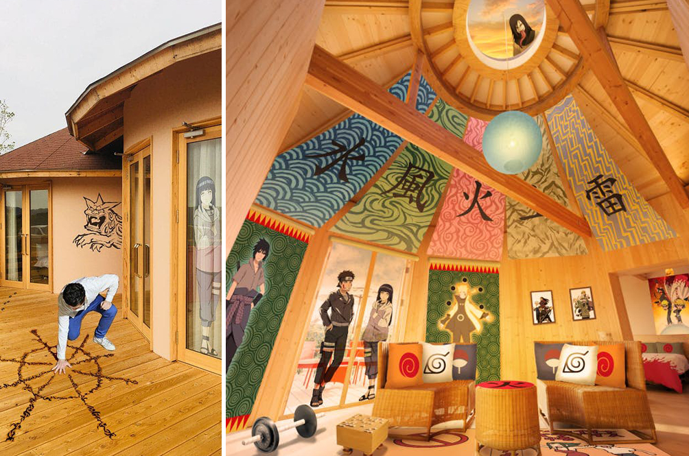 'Naruto' Fans, You Can Become The Hokage Of This 'Naruto'-Themed Hotel Suite In Japan