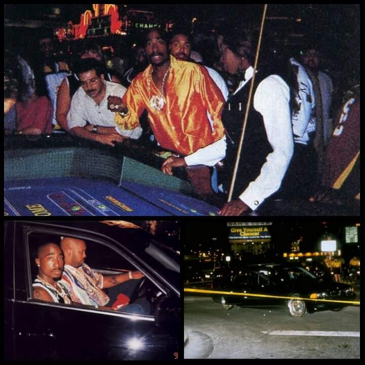 Tupac was shot and died six days later.