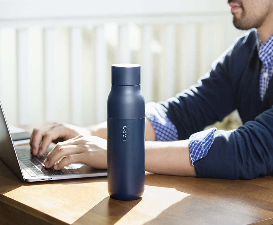 A bottle that is smarter than you.