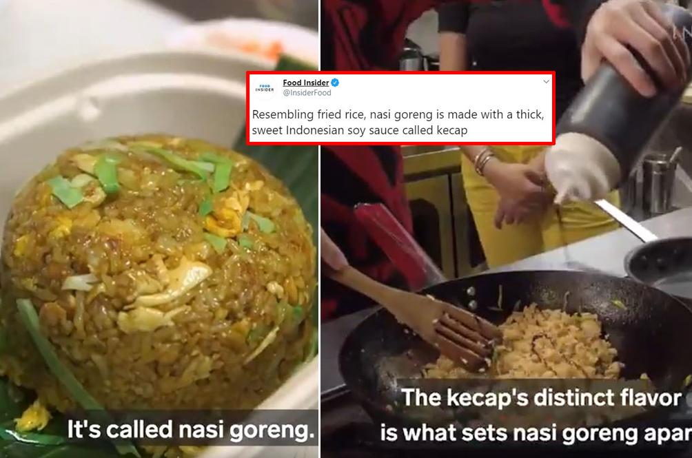 Food Website Says 'Nasi Goreng' Resembles Fried Rice, Southeast Asian Foodies Triggered!