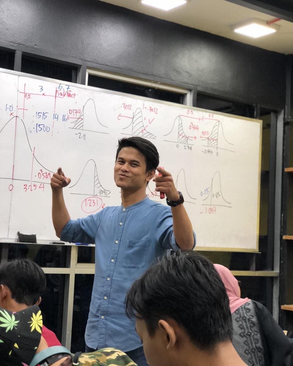 Teacher of a new generation.