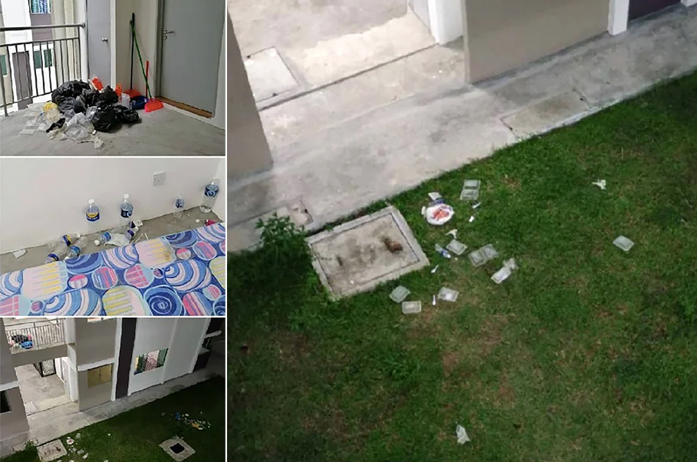 Residents In Sabah Quarantine Centres Show Their Ugly Side By Littering, Being Unhygienic