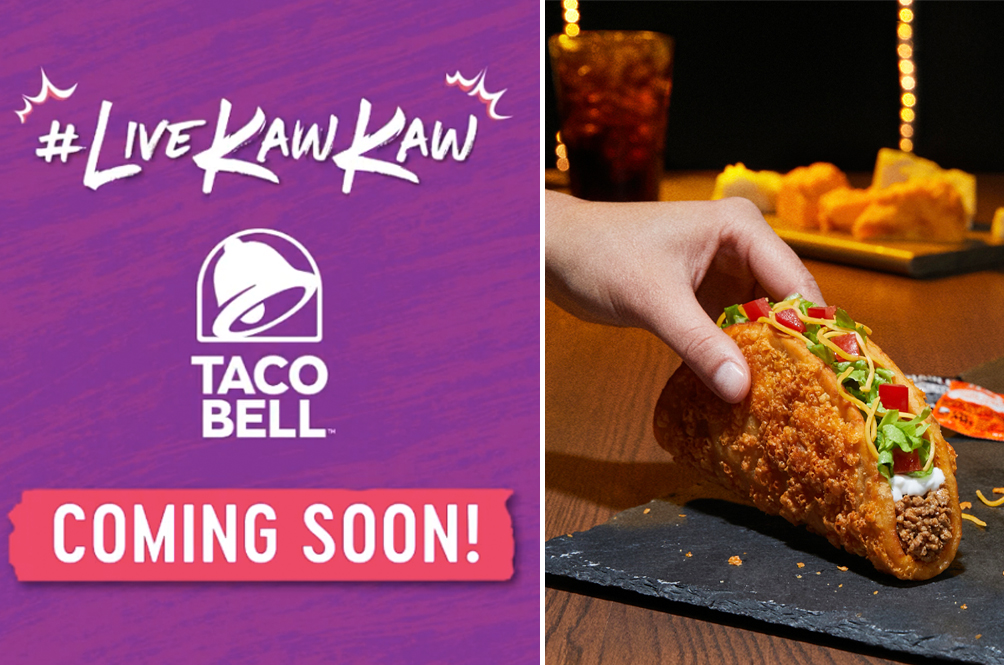 It's (Almost) Here! The First Taco Bell Outlet In Malaysia Is Set To Open Its Doors Next Week