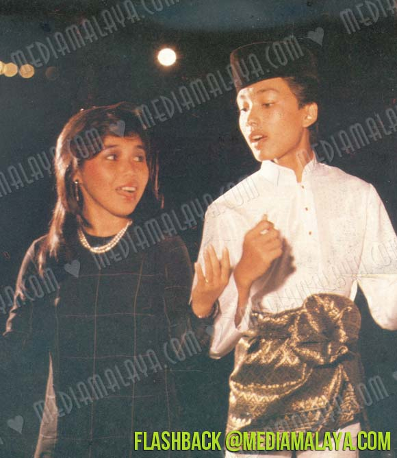 Annuar and Eliina in action back in the day.