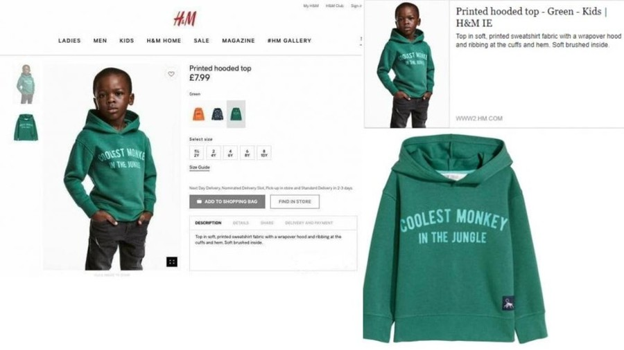 H&M created a huge uproar over this campaign and their apology.