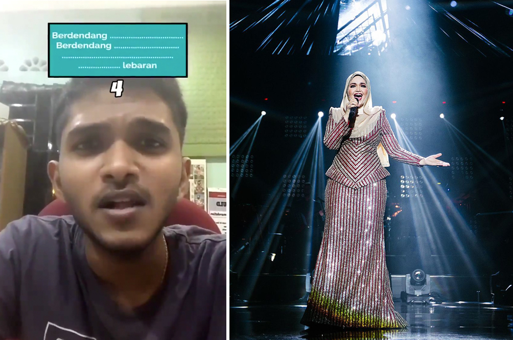 Malaysian Student Wows Netizens By Nailing Siti Nurhaliza's Songs In Online Challenge