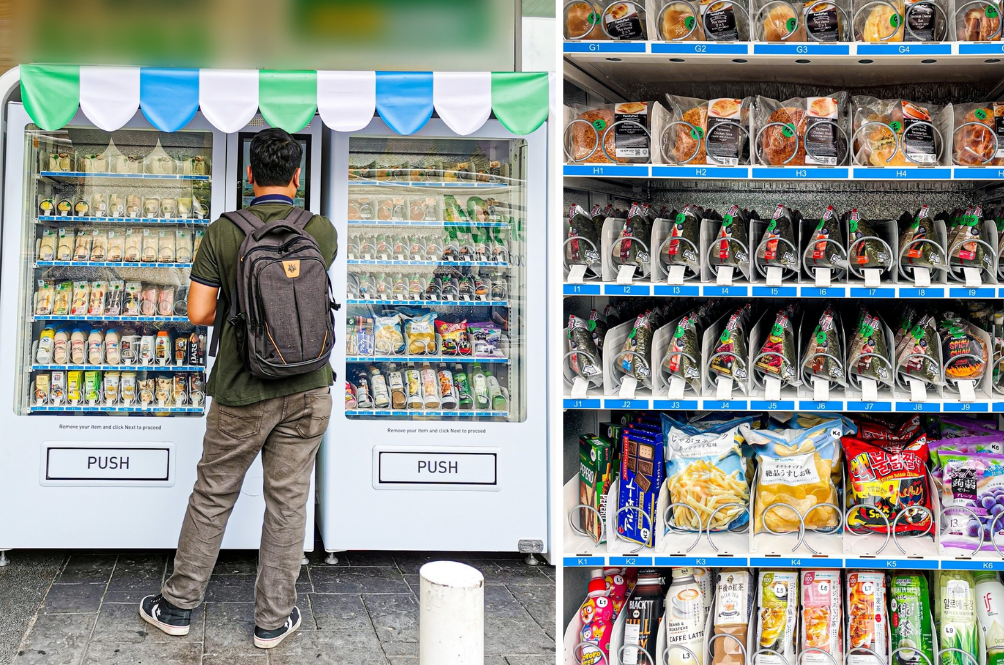 FamilyMart Has Just Launched Their First Ever Vending Machine In M'sia, And Here's Where To Find It