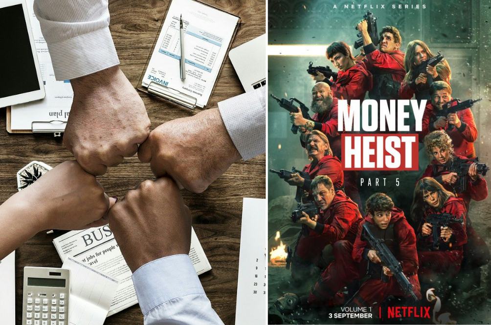Company In India Gives Employees A Day Off To Watch The Season 5 Premiere Of 'Money Heist'