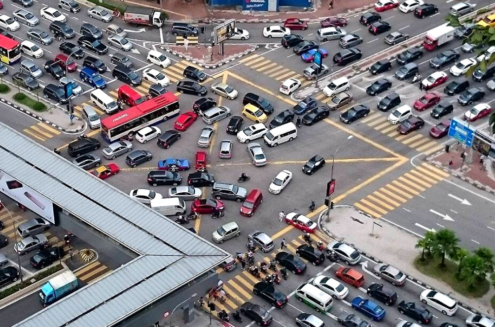 Report: KL Is Apparently One Of The Most Stressful Cities In The World To Drive In