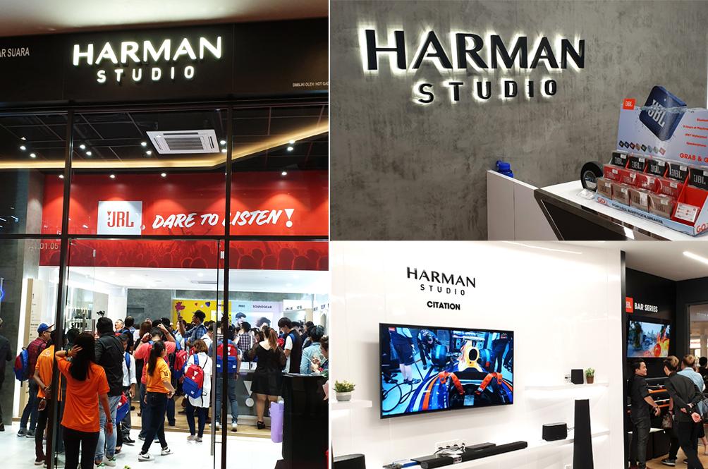 Take A Peek Inside The First Ever Harman Studio In Malaysia