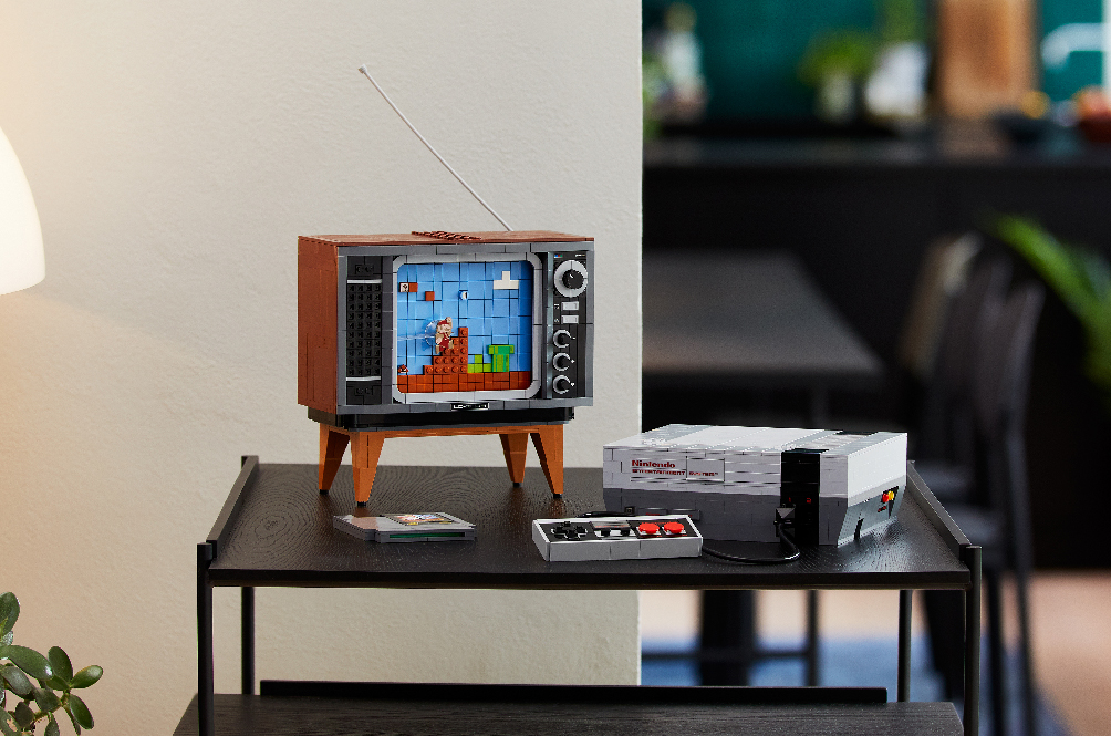 LEGO Is Going Old School With Their New Nintendo Entertainment System Brick Set