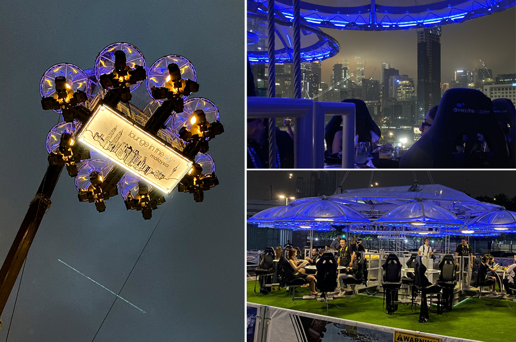 We Partied On A Platform 50 Meters Up In The Sky, And It Was An Interesting Experience