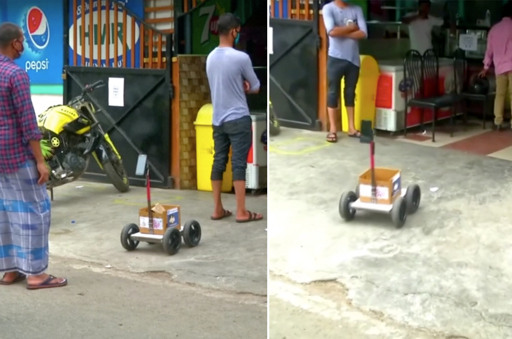 COVID-19: Computer Engineer From India Creates Robot Shopper To Help Him Shop Safely