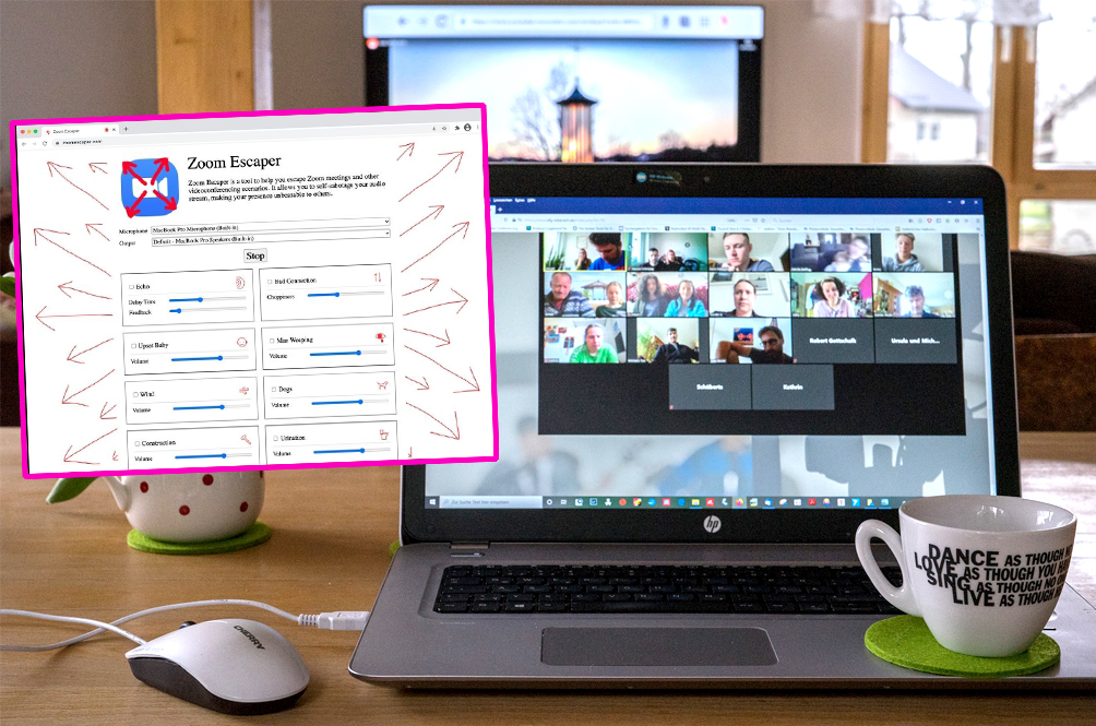 Tired Of Zoom Meetings? There's An Extension That Gives You