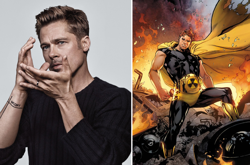 Hollywood A-Lister Brad Pitt Is Reportedly In Talks To Play MCU's Version Of Superman