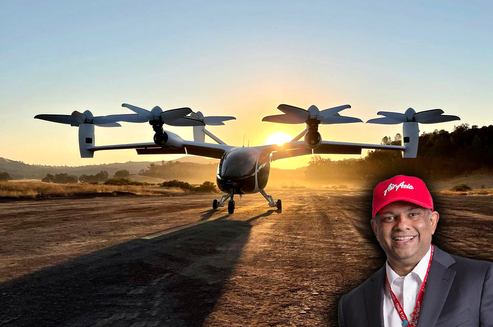 Coming To Our Malaysian Skies In 2022: Four-Seater Flying Taxis By AirAsia