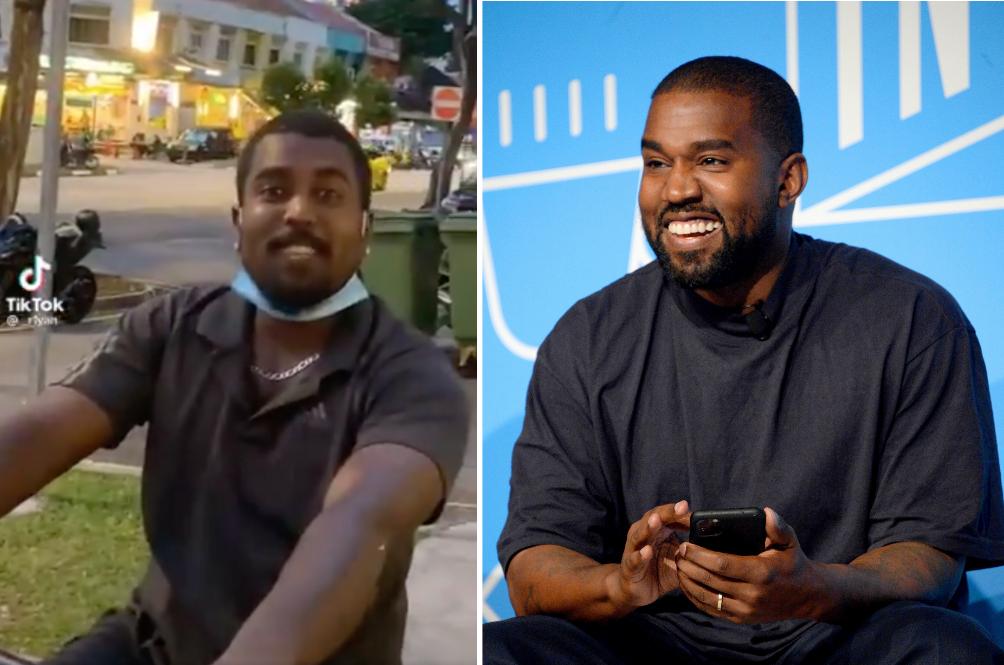 [VIDEO] Netizens Are Having Fun Teasing This Random Stranger's Resemblance To Kanye West