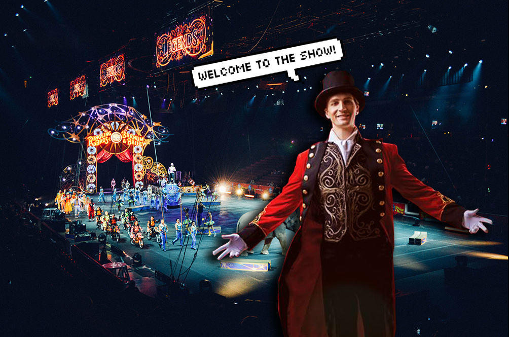 Be Prepared To Be Entertained By A French-Themed Circus At eCurve This Christmas!