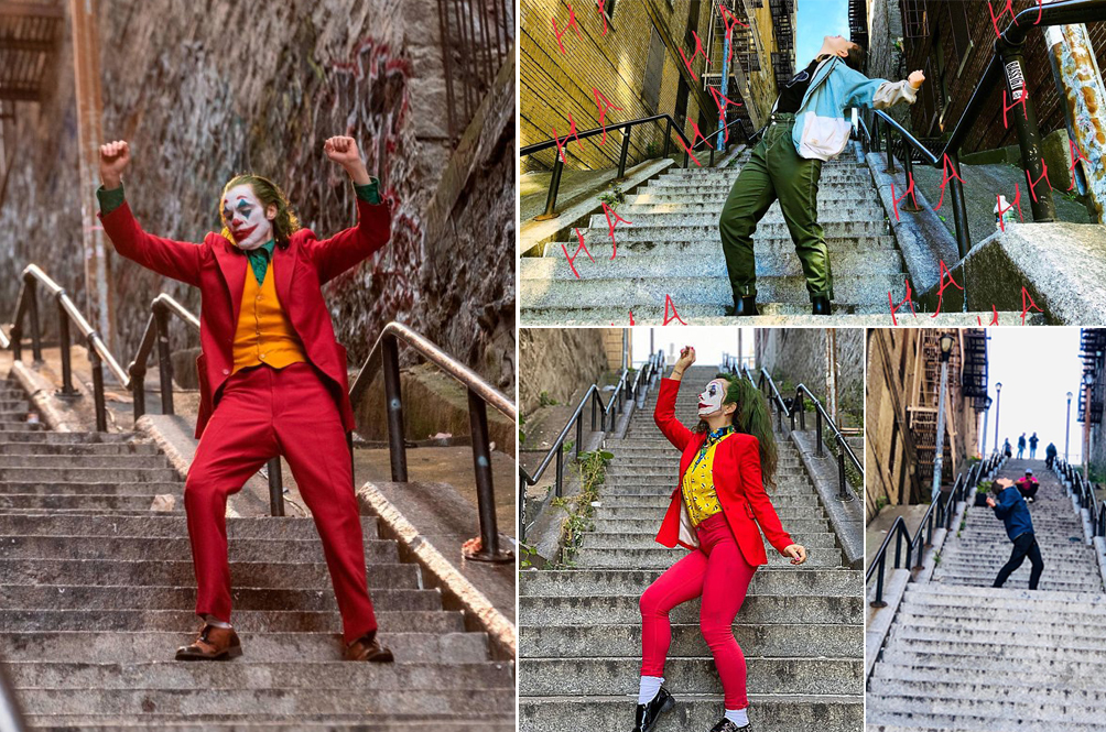 The 'Joker' Stairs In New York Is Now A Legit Tourist Attraction