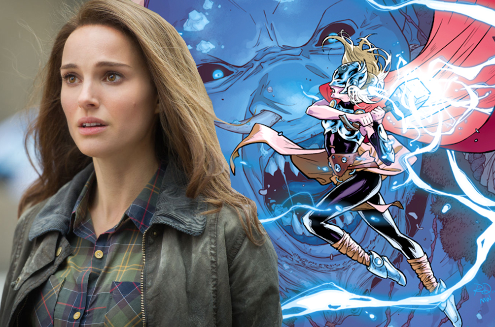 Natalie Portman Set To Play Female Thor In Upcoming 'Thor 4'