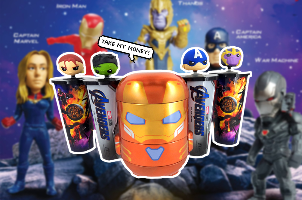 Battle Of The Popcorn Sets: All The 'Avengers: Endgame' Promos Local Cinemas Are Offering