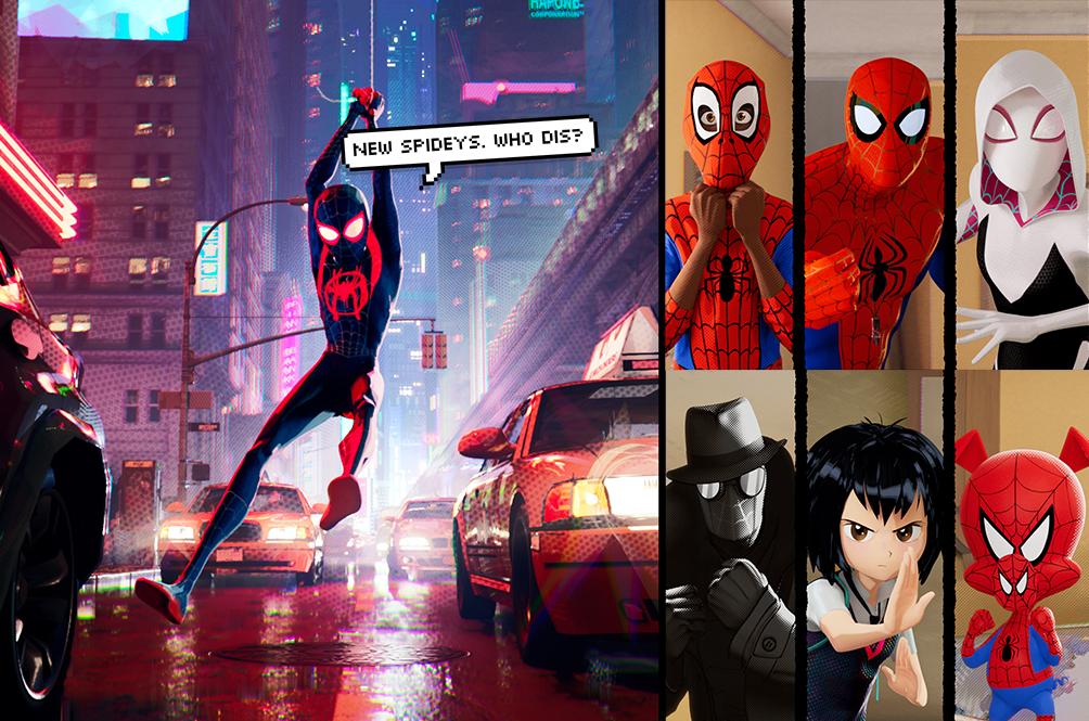 Get To Know All The Spider-People In 'Spider-Man: Into The Spider-Verse'