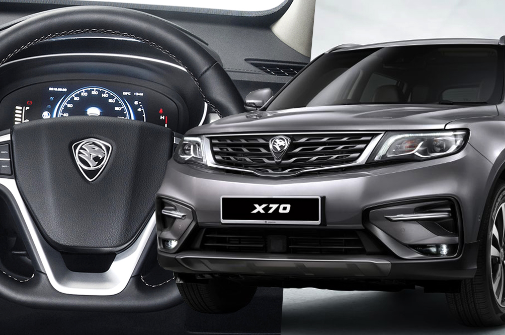 Everything You Need To Know About Proton's First Ever SUV - The X70!