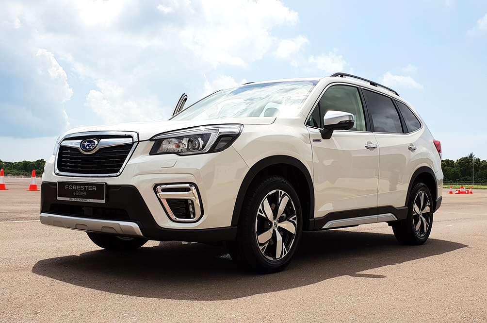 We Flew To Singapore To Test Drive Subaru's New Hybrid SUV: The Forester e-Boxer!