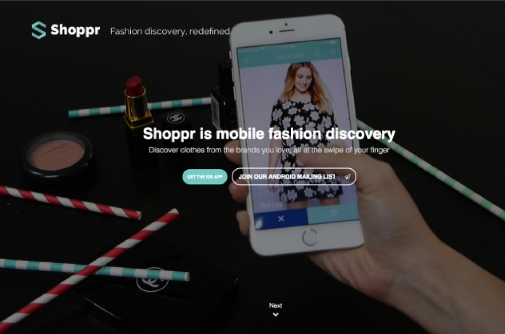Shoppr Is Malaysia's Tinder-For-Shopping App