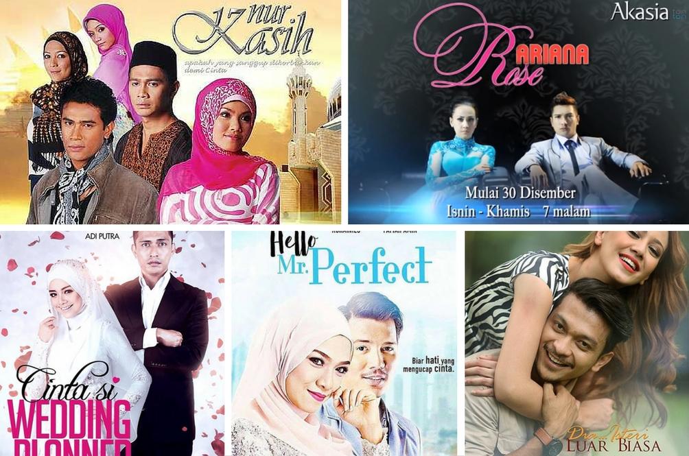 20 Drama Adaptasi Novel Paling Laris Entertainment Rojak Daily