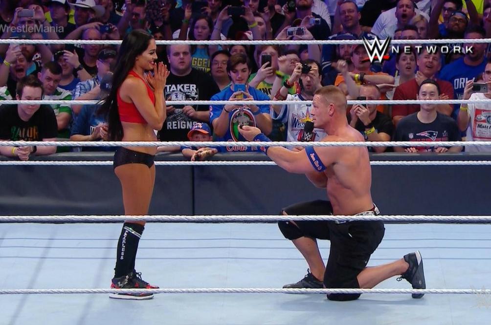 John Cena Lamar Kekasih Dalam Gelanggang WWE